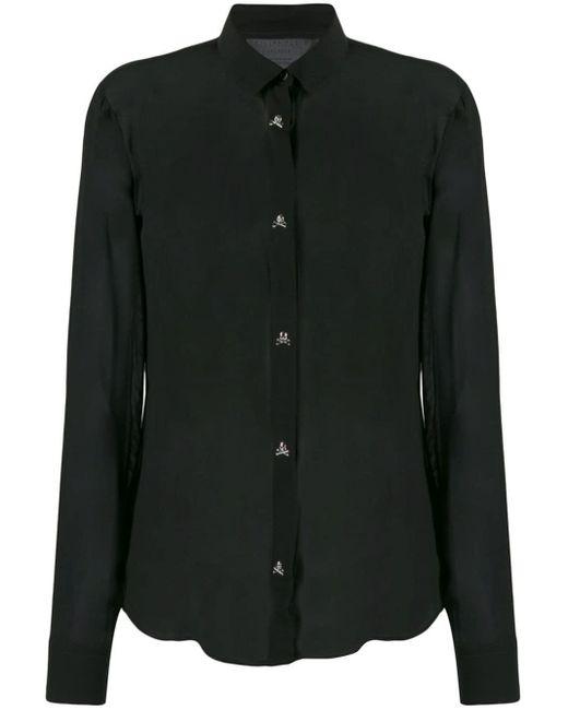 Philipp Plein シアーシャツ Black