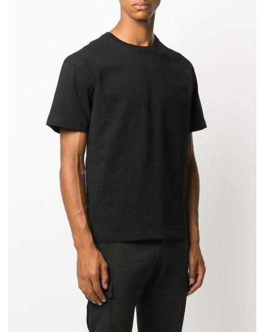 Футболка С Круглым Вырезом Bottega Veneta для него, цвет: Black