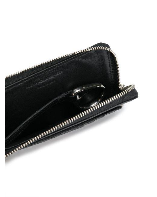 ... Alexander McQueen - Black Portefeuille à tête de mort cloutée for Men -  Lyst 18c533447ae