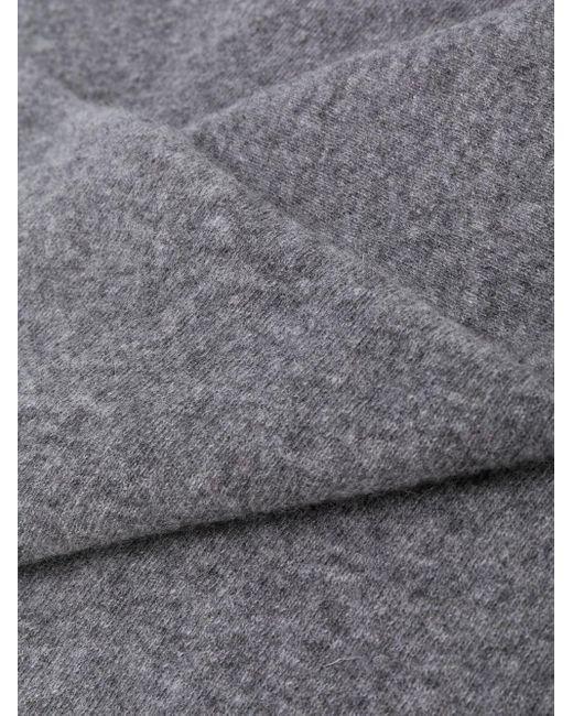 Faliero Sarti カシミア スカーフ Gray