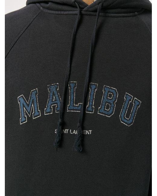Худи Malibu Saint Laurent для него, цвет: Black