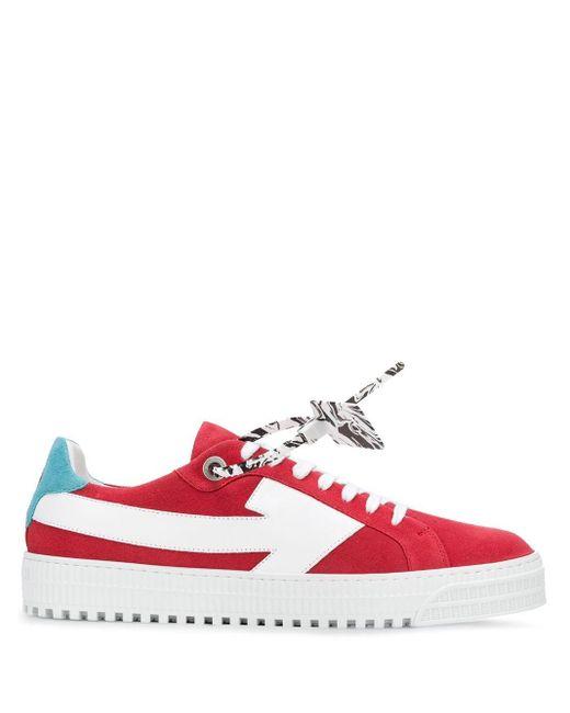 Off-White c/o Virgil Abloh 'arrow' Sneakers Red for men