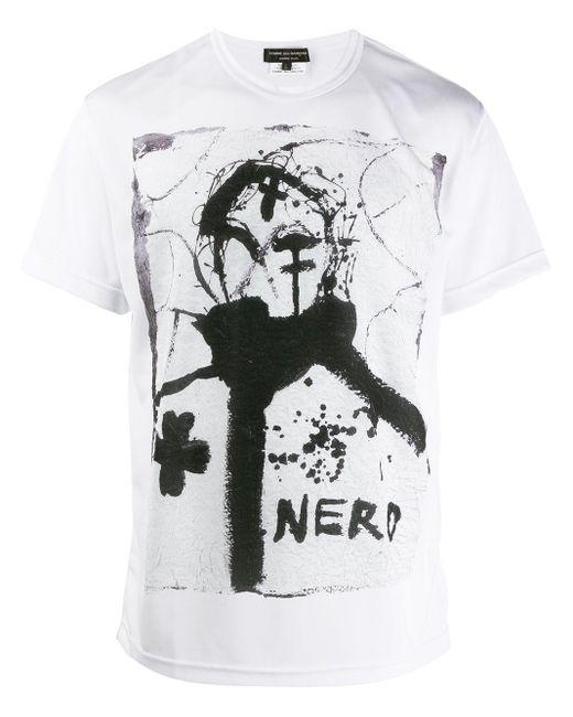 メンズ Comme des Garçons プリント Tシャツ Multicolor