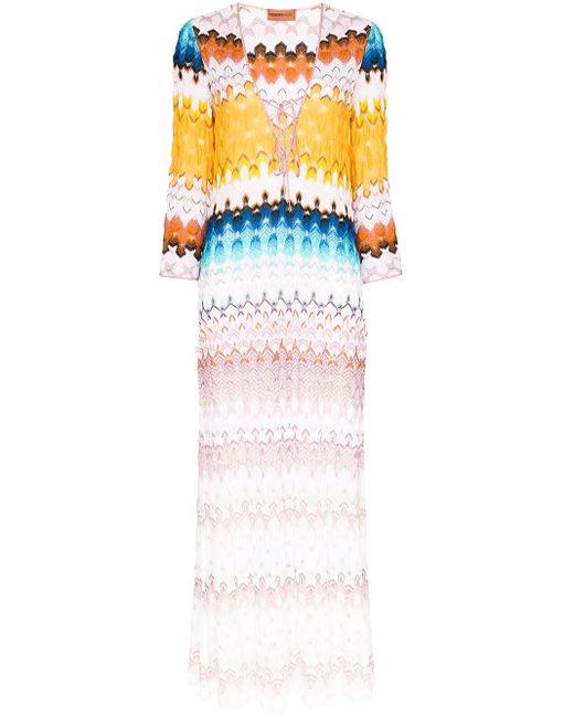 Missoni カフタン ドレス Multicolor