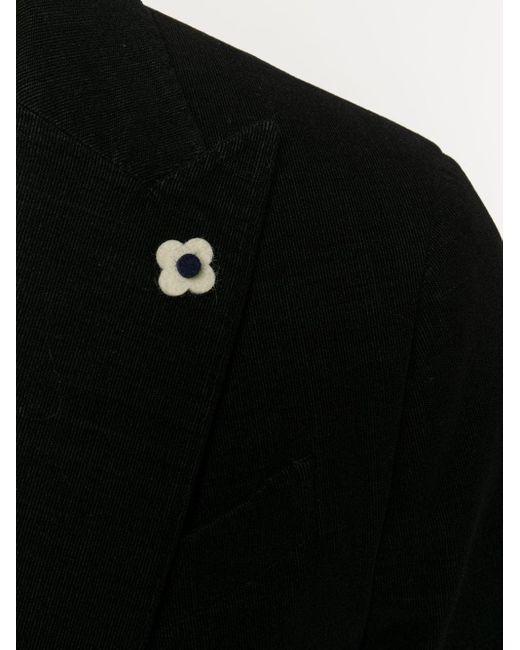 Вельветовый Пиджак Lardini для него, цвет: Black