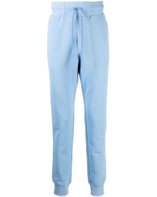 メンズ Versace Jeans ロゴ ジョガーパンツ Blue