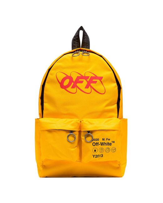 Рюкзак Industrial Off-White c/o Virgil Abloh для него, цвет: Yellow