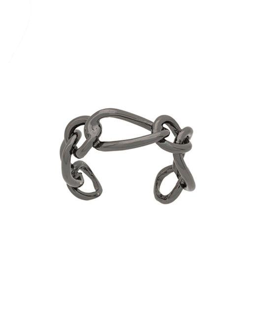 FEDERICA TOSI - Black Chain Ring - Lyst