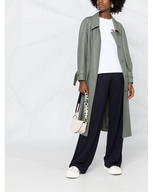 Karl Lagerfeld Mini 3d Ikonik Karl Tシャツ White