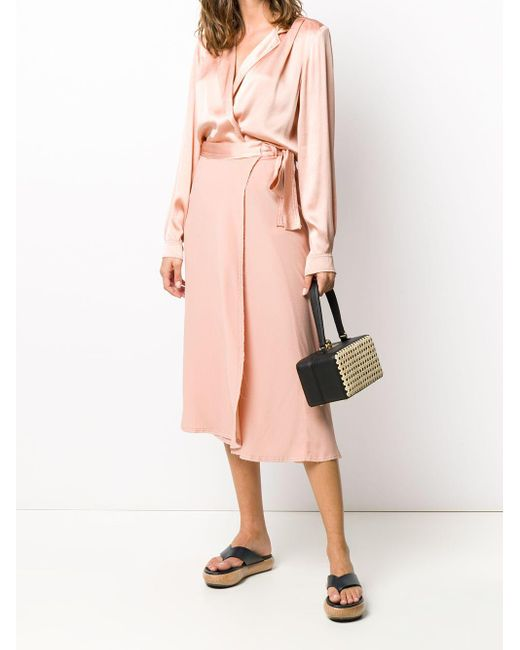Forte Forte サイドタイ スカート Pink