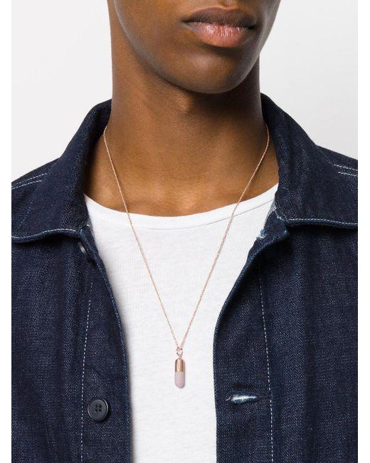 Pill necklace - Metallic True Rocks T6JVSTrQ