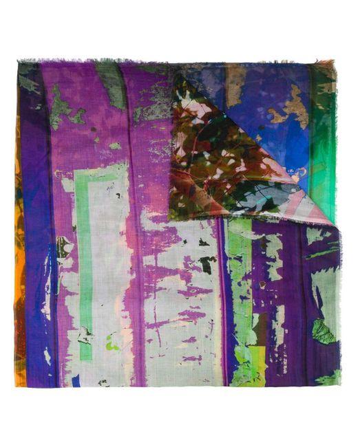 Faliero Sarti アブストラクトプリント スカーフ Multicolor