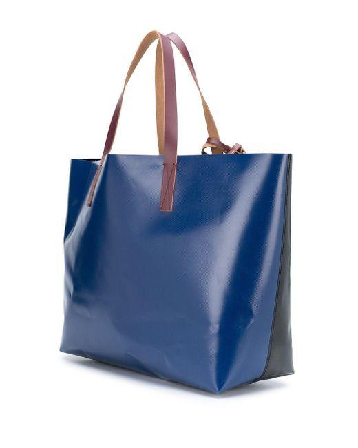 メンズ Marni カラーブロック ハンドバッグ Multicolor