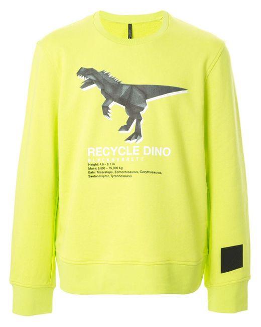 メンズ Neil Barrett Recycle Dino スウェットシャツ Yellow