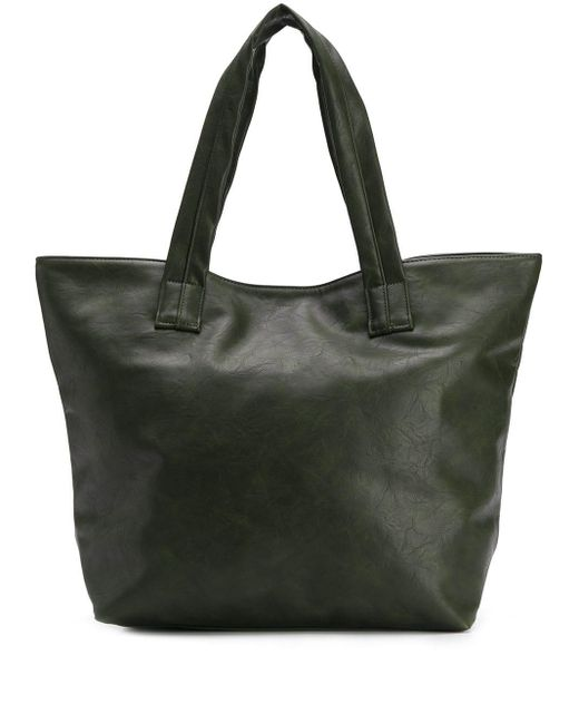 Zucca Green Slouched Shopper Tote