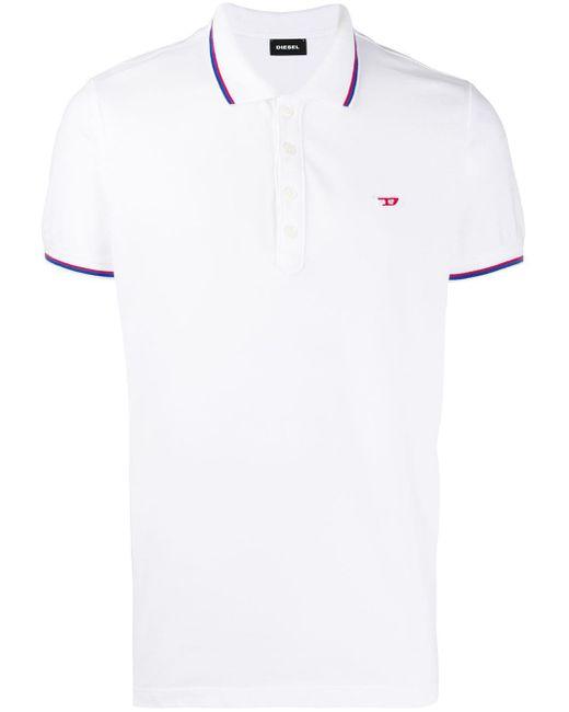 メンズ DIESEL T-randy-new ポロシャツ White