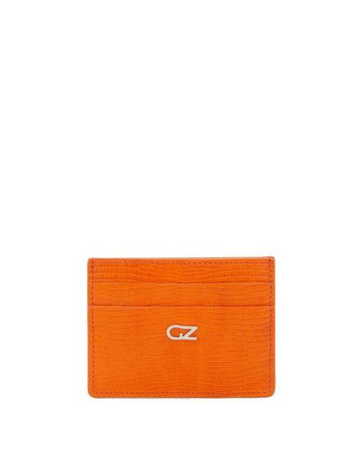 Картхолдер Miki С Тиснением Giuseppe Zanotti, цвет: Orange