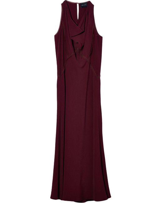 Marc Jacobs カウルネック ノースリーブ ドレス Red