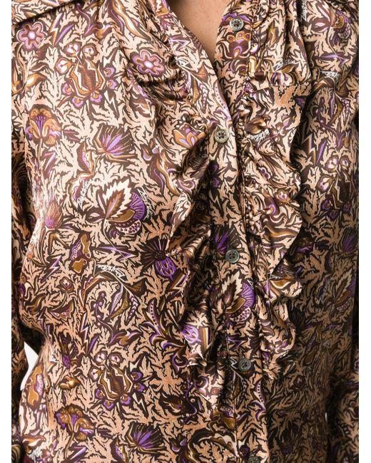 Zadig & Voltaire ラッフル シャツ Multicolor