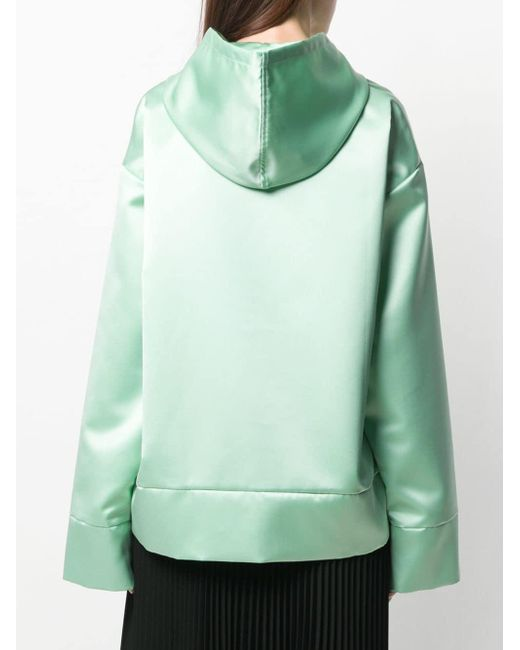 MM6 by Maison Martin Margiela ロゴ パーカー Green