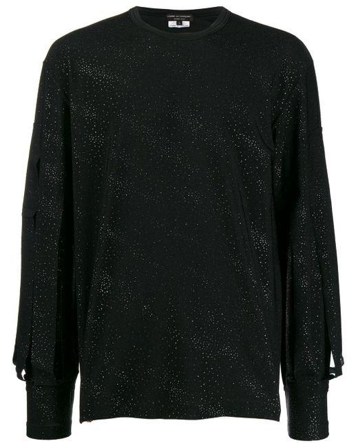 メンズ Comme des Garçons スリープディテール シャツ Black