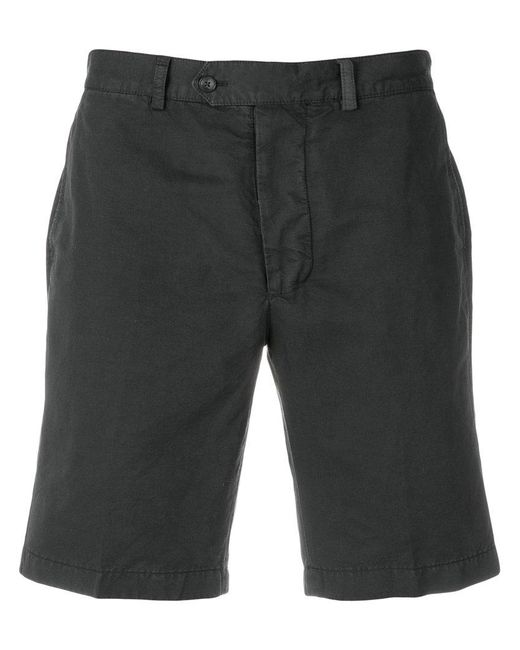 Officine Generale - Gray Casual Chino Shorts for Men - Lyst