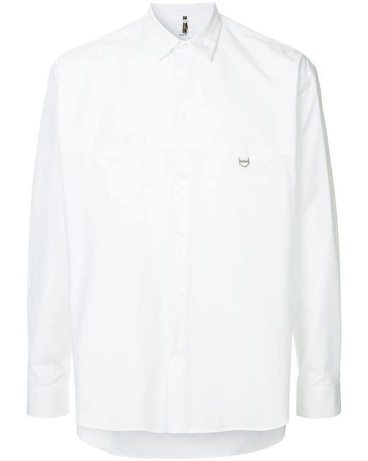 284d95f445d96 OAMC - White Chest Pocket Shirt for Men - Lyst ...