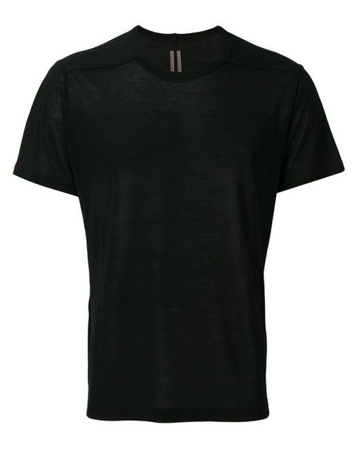 メンズ Rick Owens リラックスフィット Tシャツ Black