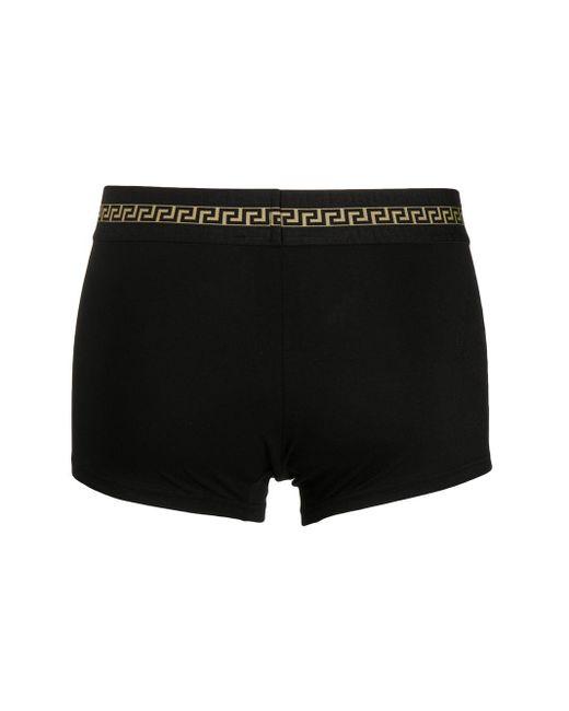 メンズ Versace メデューサ ボクサーパンツ Black