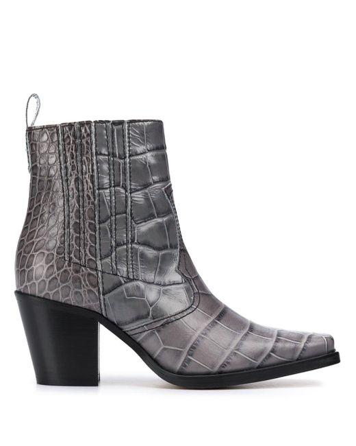 Stivali Phantom di Ganni in Gray