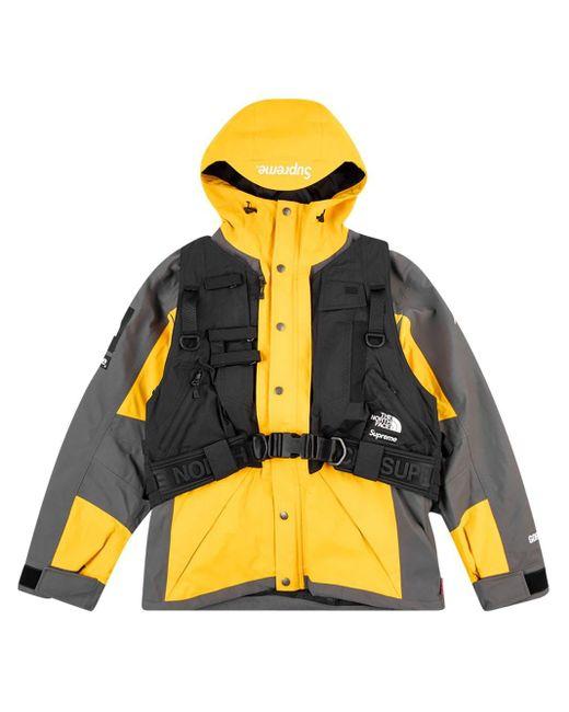 メンズ Supreme X The North Face Rtg ジャケット Yellow