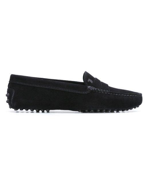Tod's Gommino Loafers in het Black