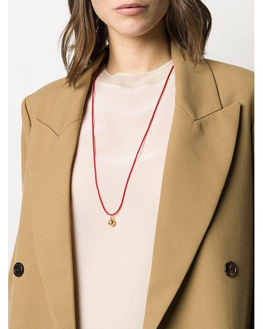 Alighieri Red 'Pentacle' Halskette
