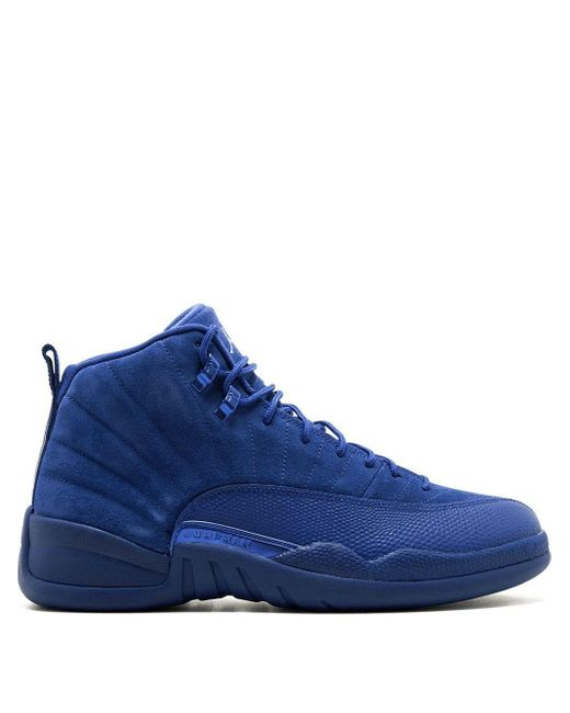 メンズ Nike Air 12 Retro スニーカー Blue