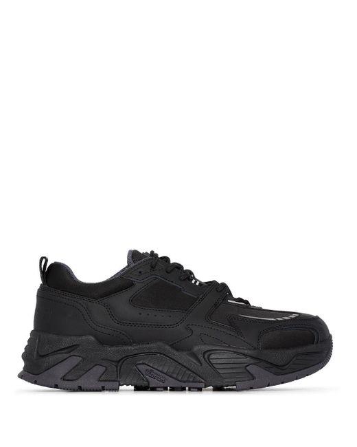 Marcelo Burlon Black C-run 3000 Sneakers for men