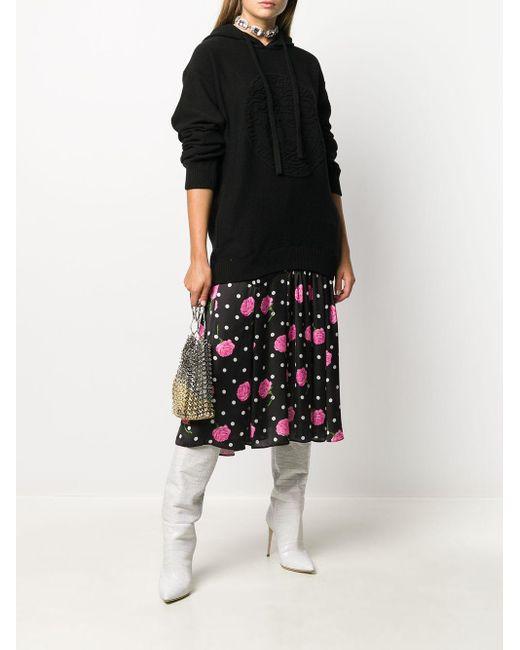Versace メデューサ パーカー Black