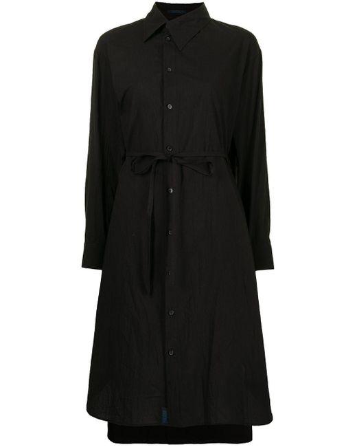 Yohji Yamamoto シャツドレス Black