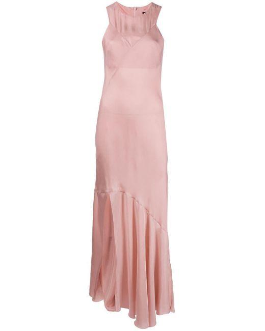 Расклешенное Платье Макси Rivale Ann Demeulemeester, цвет: Pink