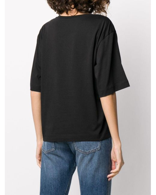 Boutique Moschino プリント Tシャツ Black