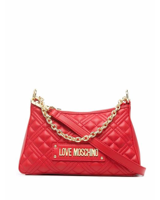 Love Moschino キルティング バッグ Red