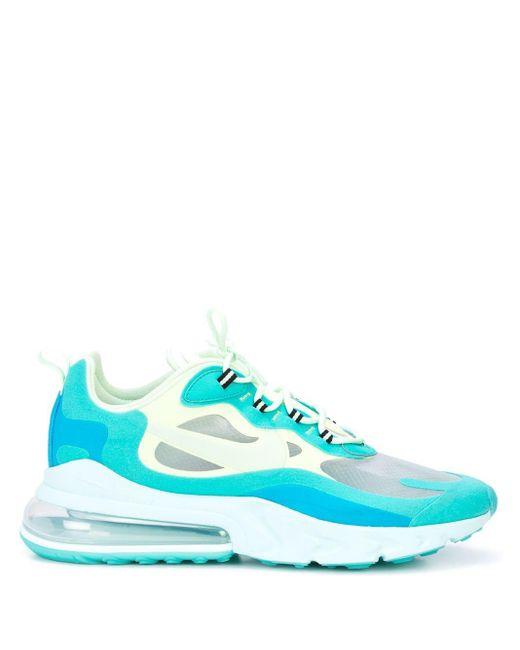 メンズ Nike Air Max 270 React スニーカー Blue