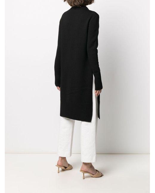 Vestito con cut-out di Totême  in Black