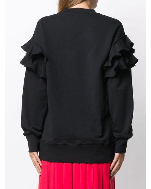 Moschino テディベア スウェットシャツ Black