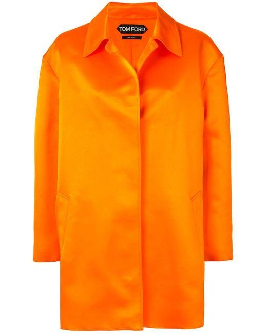 Tom Ford シルクコート Orange