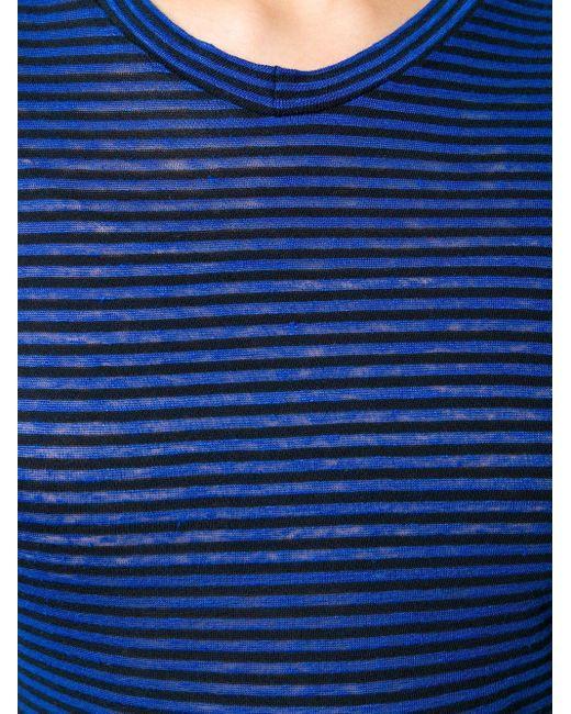 Étoile Isabel Marant ストライプ Tシャツ Blue