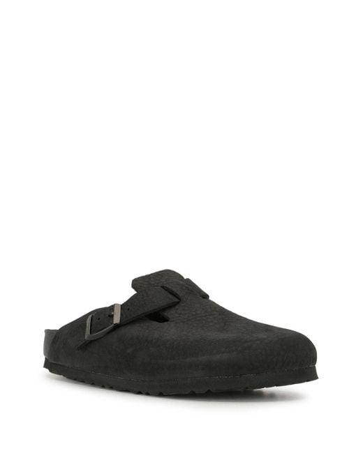 Birkenstock Black 'Boston' Clogs