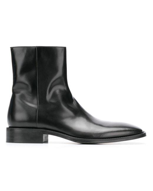 0ec16d9aae234 Balenciaga Rim Ankle Boots in Black for Men - Lyst