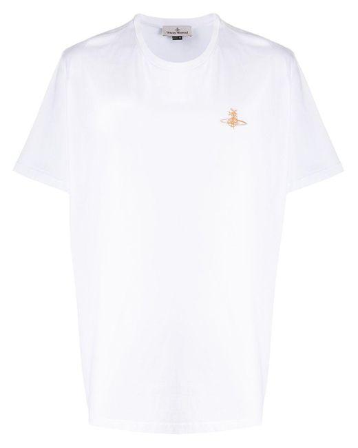 メンズ Vivienne Westwood オーバーサイズ Tシャツ White