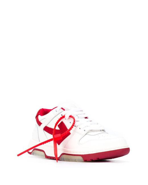 Off-White c/o Virgil Abloh Out Of Office スニーカー Red