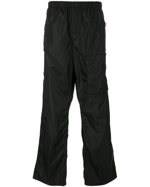 Givenchy - Black Loose Fit Trousers for Men - Lyst
